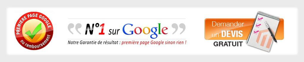 Référencement Google 1ere Page Garanti