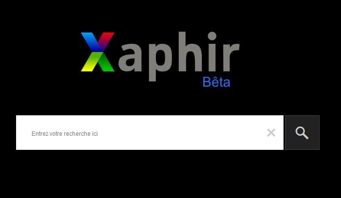 Xaphir, nouveau moteur de recherche français